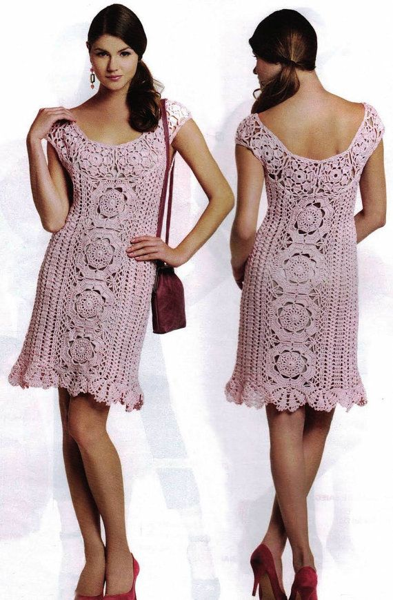 Hey, I found this really awesome Etsy listing at https://www.etsy.com/listing/162654942/crochet-dress-pattern-cocktail-crochet