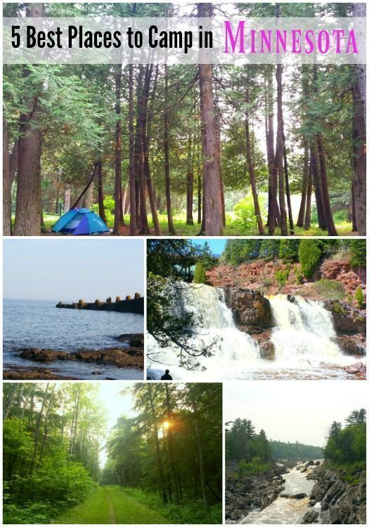 Best Places to Camp in Minnesota