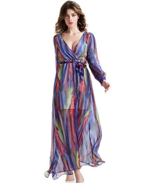 Striped Beach Dress