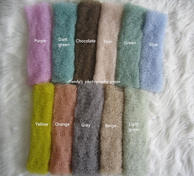 >> Click to Buy << (11colour)BackDrop Mohair WrapNewborn sunflower wrap photo props Newborn Cocoon Mohair stretch wrap Baby scarf mohair blanket #Affiliate