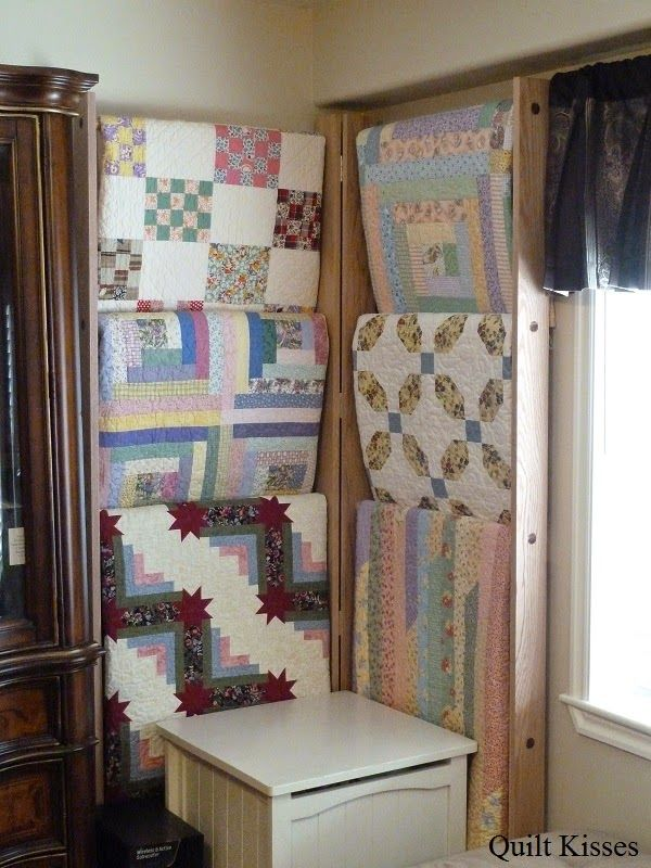 Quilt Kisses: Side-by-Side Quilt Ladder Tutorial