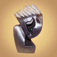African Art Shona Sculpture - Refusing To Say