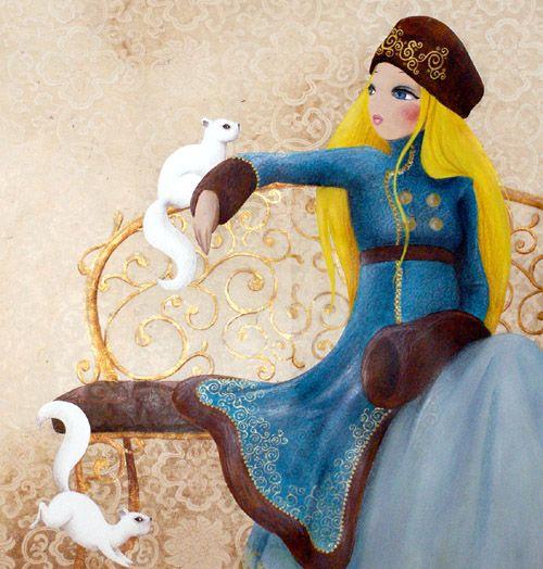 misstigri, Russian princess