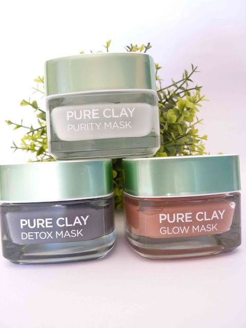 Melanie's Nook: Review : L'Oreal Clay Masks