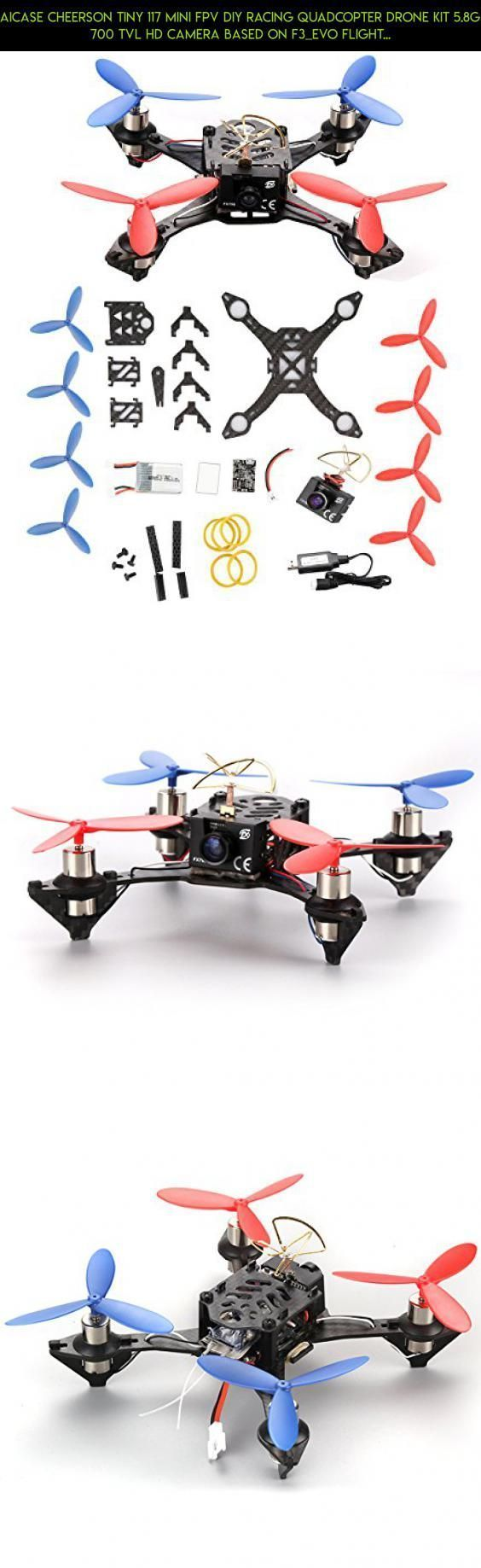 AICase Cheerson TINY 117 Mini FPV DIY Racing Quadcopter Drone Kit 5.8G 700 TVL HD Camera Based On F3_EVO Flight Controller #kit #racing #drone #tech #gadgets #products #fpv #parts #parts #plans #technology #camera #syma #shopping #f3