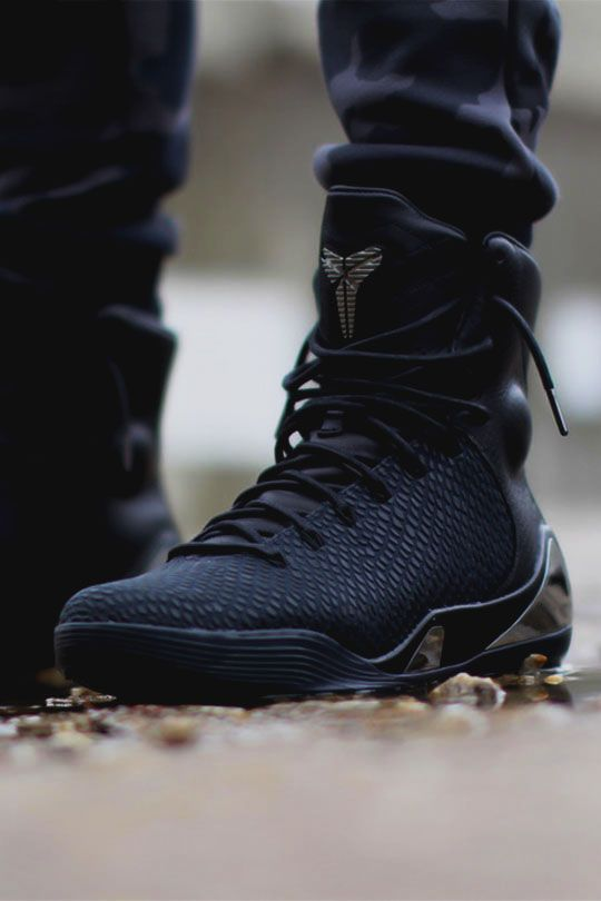 "Nike Kobe 9 High KRM EXT ""Black Mamba"" by KicksOnFire These look better  than the all red ones in my opinion. You guys feeling these?"