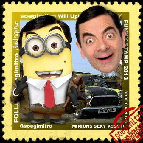 Minions Sexy Pose 2 - Mr. Bean