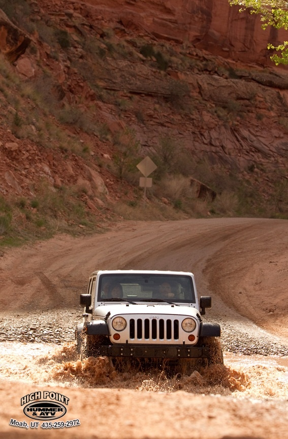 Rent a Jeep from High Point and take it on some of the most scenic trails in Moab.