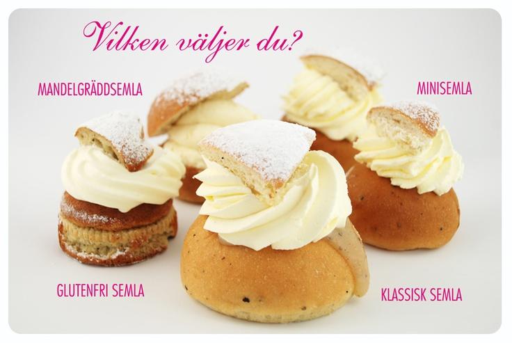 Många bagare. Många sorter. Vilken väljer du? http://godsmak.se/dessert-och-choklad-stockholm/cafe