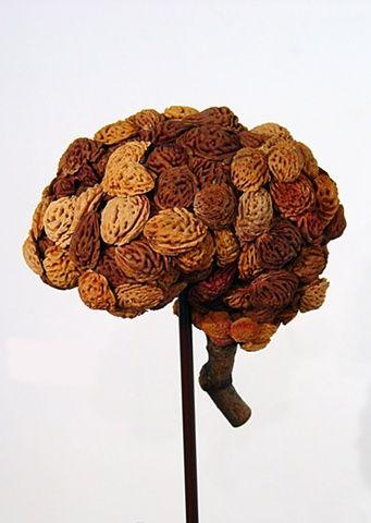 "Sculpture Gods Prototype The nature of man ""Brain"" by Ian Crawley"