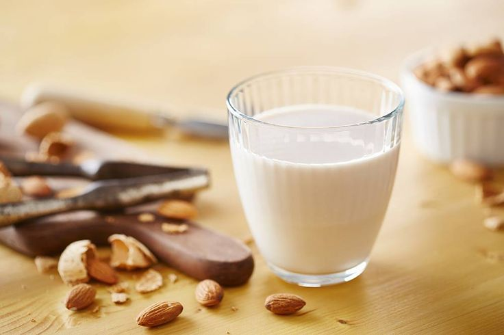 Make almond milk with your slow juicer.  WWW.HUROM.COM