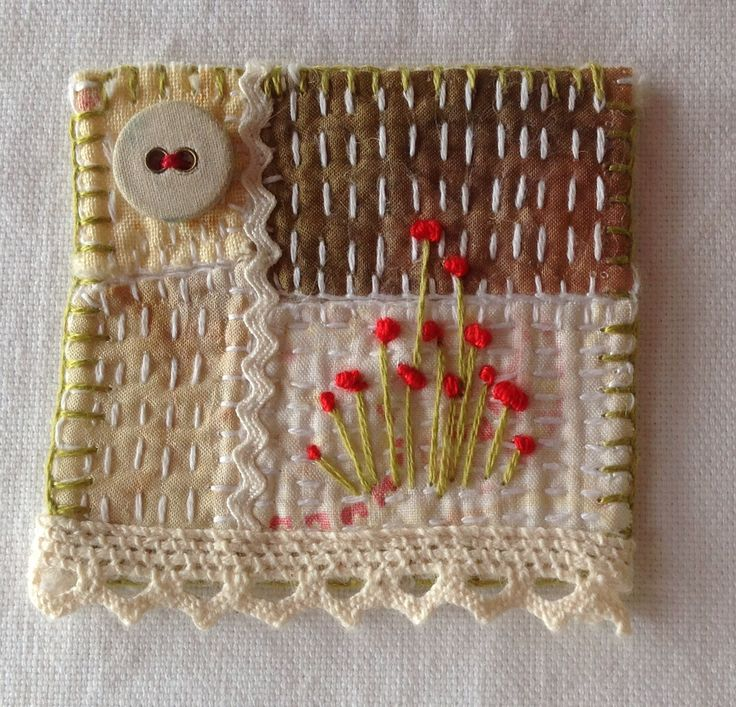Brooch by Marilyn Stephens Artist