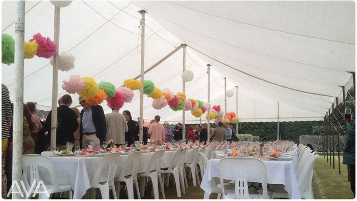 marquee for hire peg and pole northern beaches upper north shore eastern suburbs AVA PARTY HIRE Call us on 9938 5599 for a quote