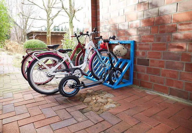 Slik lager du ditt eget sykkelstativ - viivilla.no