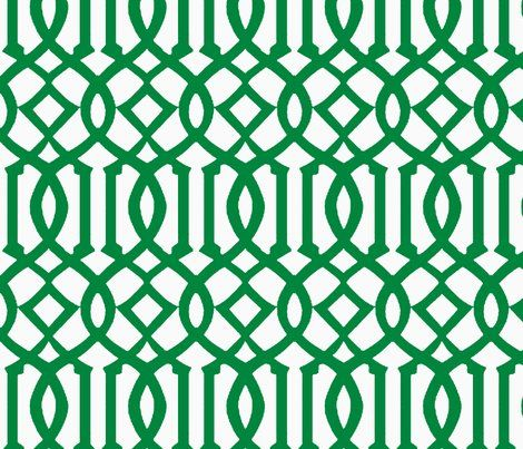 spoonflower trellis...what other colors?  For bathroom