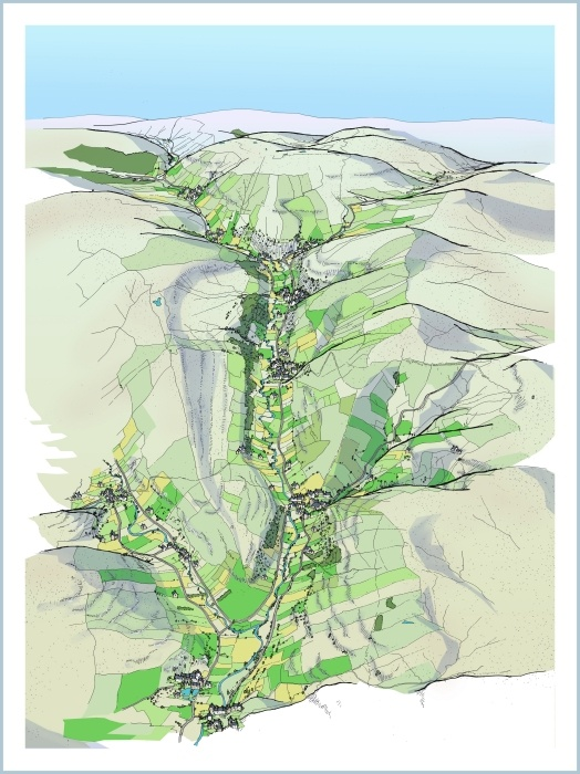 Wharfefdale map
