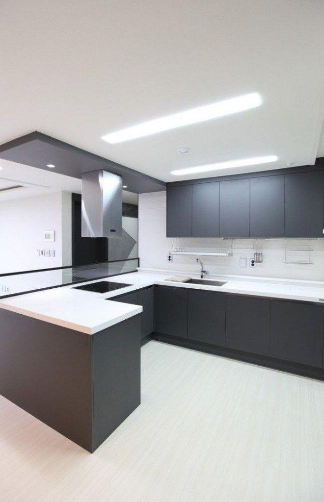 60 Gorgeous Black Kitchen Ideas For Every Decorating Style 60 Kitchendesign Kitchenideas Gentileforda Com Modern Kitchen Design Interior Design Kitchen Contemporary Kitchen Room Design