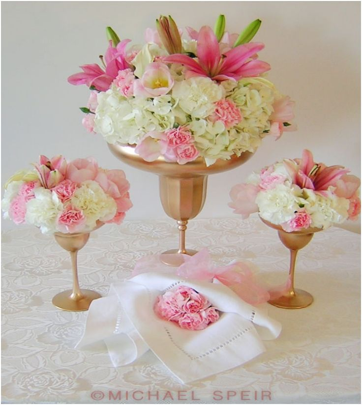 49 best images about wine glass centerpieces on pinterest for Centerpieces made with wine glasses