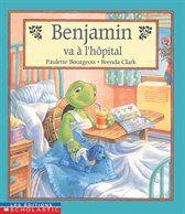 31997000945147 Benjamin va à l'hôpital. En jouant, Benjamin a fêlé sa carapace. On consulte le médecin: Benjamin doit être opéré. Il démontre beaucoup de courage, malgré sa peur. Réconfortant. [SDM]