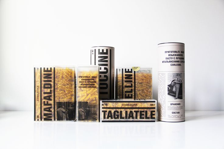 """Check out this @Behance project: """"Packaging for pasta """"Corleone"""""""" https://www.behance.net/gallery/53081671/Packaging-for-pasta-Corleone"""
