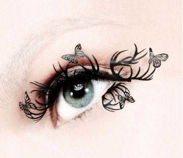 Effie Trinket Costume -  Hunger Games Eyelashes