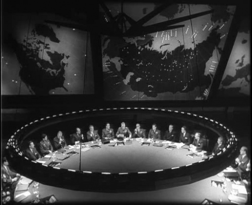 Dr. Strangelove or: How I Learned to Stop Worrying and Love the Bomb (1964): Costumes Class, Mise En Scene, Film Sets, Class Ideas, Design Movie, Movie Sets, Design Porn, Products Design, Production Design