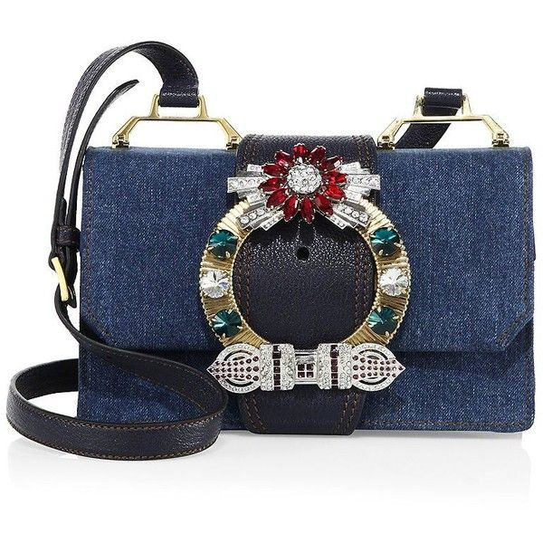 Miu Miu Denim Purse
