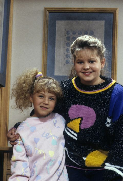 Full House's Stephanie Tanner: adorable. The side ponytail she and innumerable other '80s kids wore: not so much.