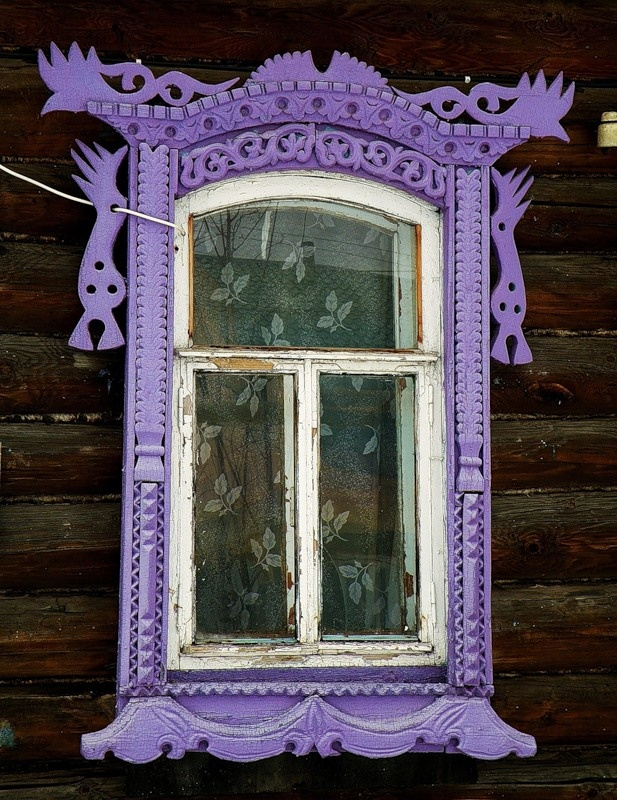 Russian window frame in purple. : mister doors russia - pezcame.com
