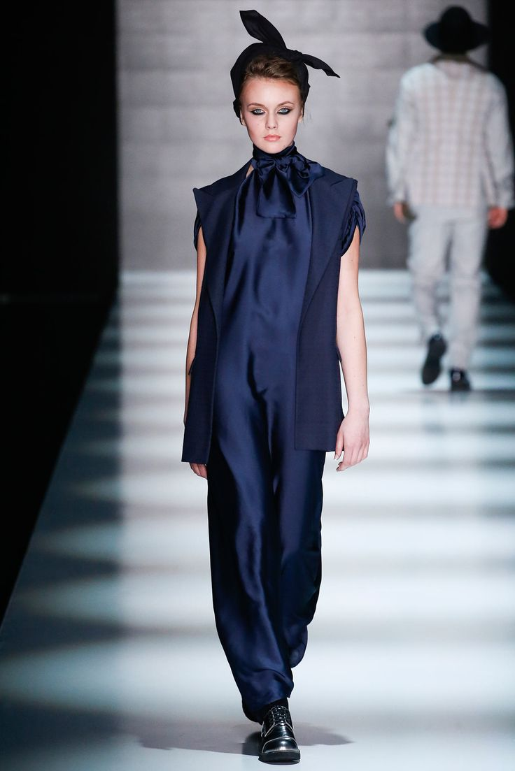 Goga Nikabadze Russia Fall 2015 Fashion Show Pinterest