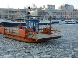 Föri operates usually also during the winter time