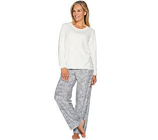 Stan Herman Tall Micro Fleece Novelty Pajama Set
