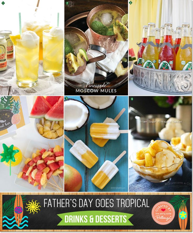 father's day cookout menu