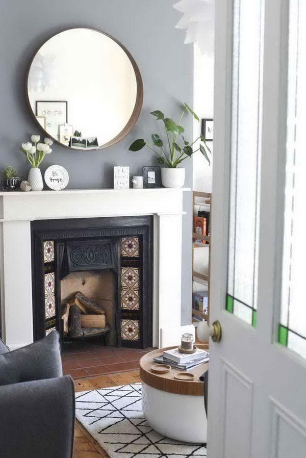 Espejos Ikea Para Decorar Interiores Casa Hogar Chimenea