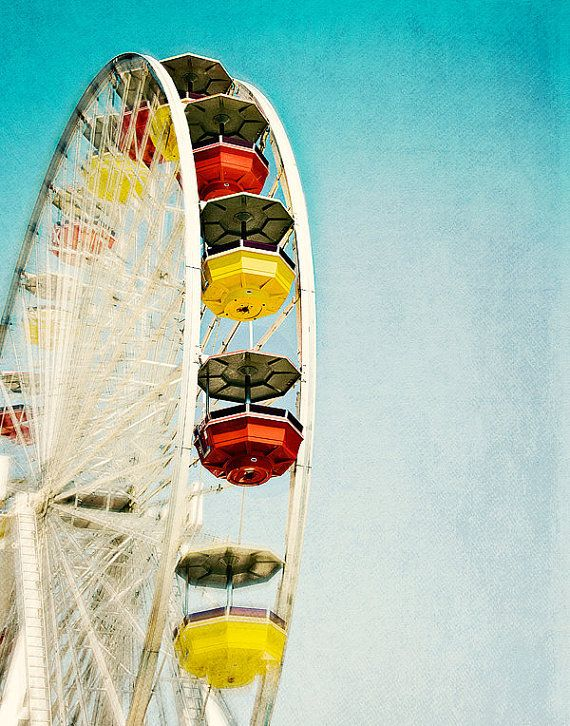 Photography Nursery Decor Ferris Wheel
