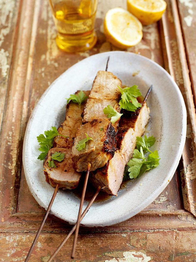 A deliciously succulent pork tenderloin recipe, in a Texan style marinade and blackened on the BBQ. Get this Jamie Oliver recipe from Sobeys.