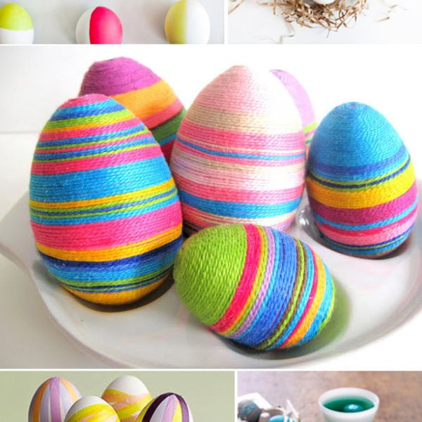 7 Easter egg dyeing techniques