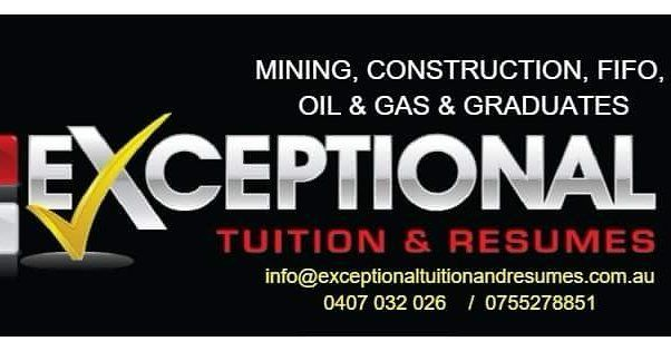 For all your construction civil works oil and gas mining and graduate job applications our team at Exceptional Tuition and Resumes will take care of you :) #exceptionaltuitionandresumes #goldcoast #broadbeach #surfersparadise #brisbane #brissy #queensland #qld #sunshinecoast #construction #constructionworker #constructions #building #builder #landscape #landscaping #build #tradie #concrete #tiling #flooring #waterproofing #lawn #tools #safety #apprentice #apprenticeship #home #design…