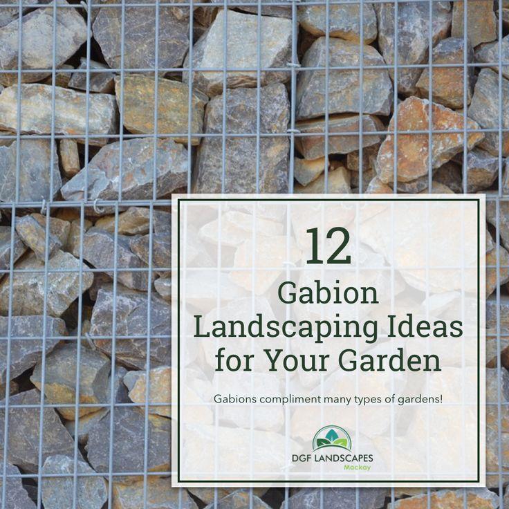 12 Gabion Landscaping Ideas for Your Garden http://www.dgflandscapes.com/2017/11/12-gabion-landscaping-ideas-garden/?utm_content=bufferbb49a&utm_medium=social&utm_source=pinterest.com&utm_campaign=buffer 