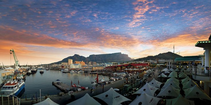 Photo of Sunset at V and A Waterfront