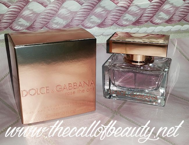 The Call of Beauty: Parfums: Dolce & Gabbana Rose The One