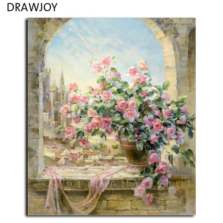 ホット販売フレームレスの写真絵画diy絵画by数字ハンド塗装オイルキャンバスにウォール絵画ホーム装飾g134 40*50センチメートル