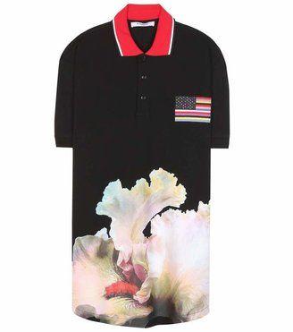 Givenchy Cotton piqué polo shirt - Shop for women's Shirt - Black Shirt