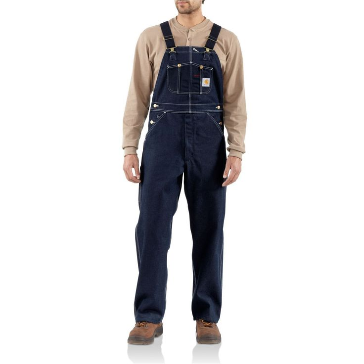 Denim Bib Overalls - The Brown Duck