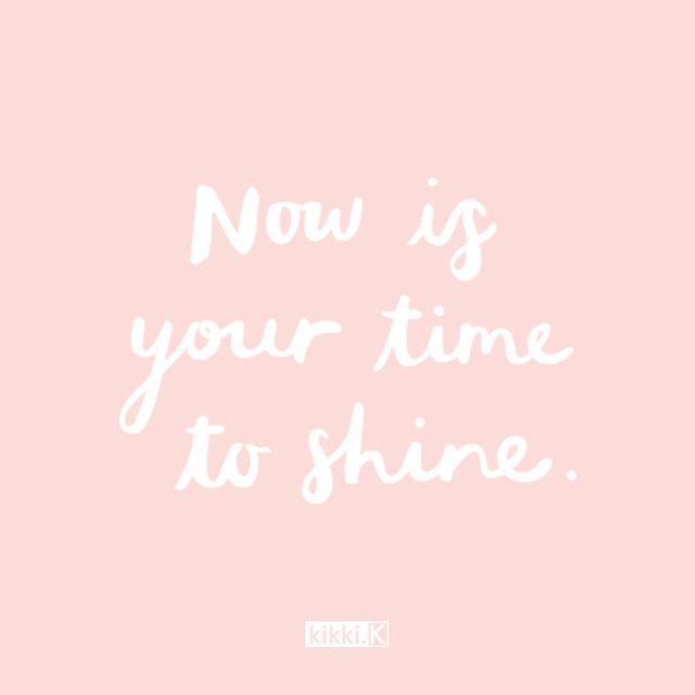 Now is your time to shine! #livebright #kikkiK www.kikki-k.com