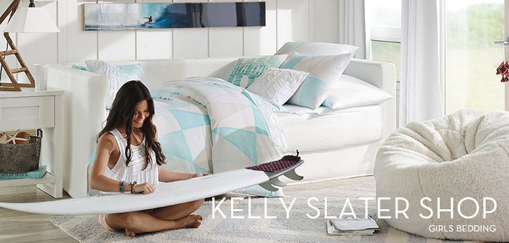 Kelly Slater Teen Bedding   PBteen