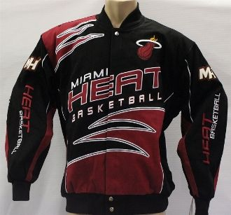 Miami Heat Shred Cotton Twill Jacket. Order From Here >>.  bjsportstore.ccom