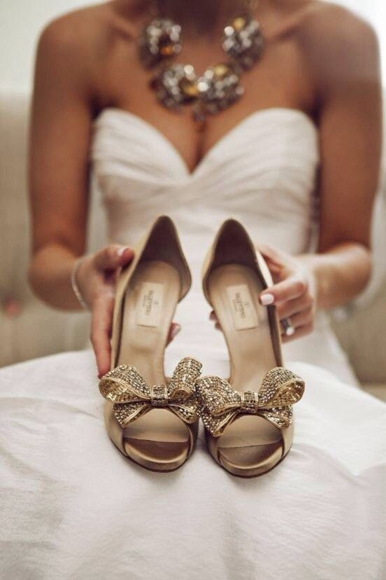 wedding shoes with bows valentino gold bow heels wedding bow heels 1139