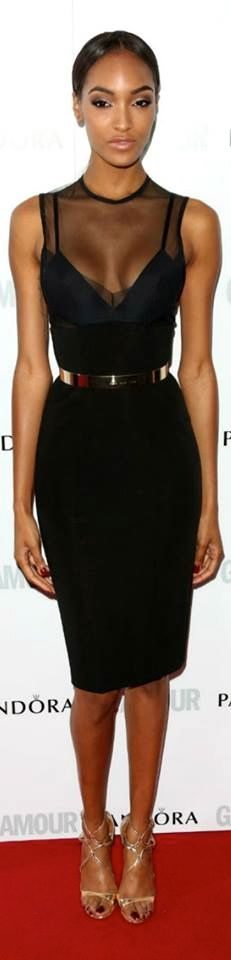 Jourdan Dunn in Victoria Beckham