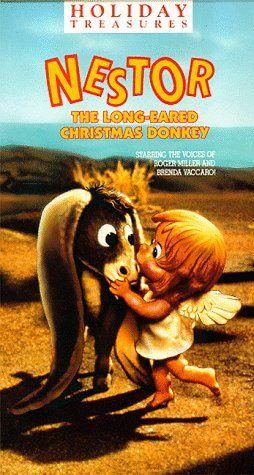 Nestor the Long Eared Christmas Donkey [VHS] Warner Home Video http://www.amazon.com/dp/6301760360/ref=cm_sw_r_pi_dp_3ZVtub1T7M46V